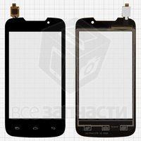 Тачскрин (сенсор) для мобильного телефона Explay Alto, черный