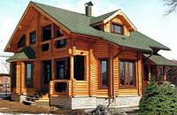 Деревянные дома и базы отдыха. Оцилиндрованное бревно. Украина, экспорт.