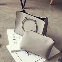 Набор женская сумка и косметичка СС7136