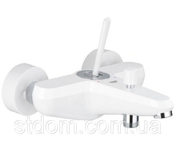 Смеситель для ванны, внешний монтаж Grohe Eurodisc Joystick 23431LS0 Белый