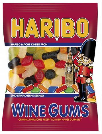 Живательные конфеты Haribo Wine Gums 200г, фото 2