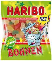 Жевательные конфеты Haribo Saure Bohnen Fizz 200г