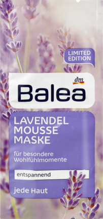 Маска для лица Balea Lavendelmousse 2х8мл