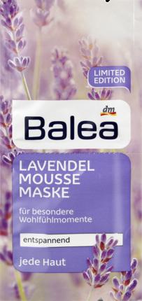 Маска для лица Balea Lavendelmousse 2х8мл, фото 2
