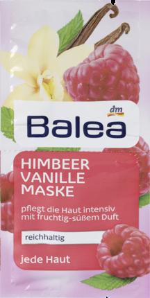 Маска для лица Balea Himbeer Vanille ваниль и малина 2х8мл, фото 2