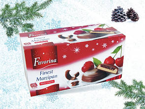Шоколадные конфеты с марципаном FAVORINA With Orange 300 г, фото 2