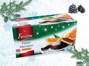 Шоколадные конфеты с марципаном FAVORINA With Orange 300 г, фото 3
