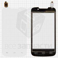 Тачскрин (сенсор) для мобильного телефона Explay Alto, белый