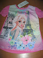 Детская нарядная футболка для девочки 3-7 лет  Турция , фото 1