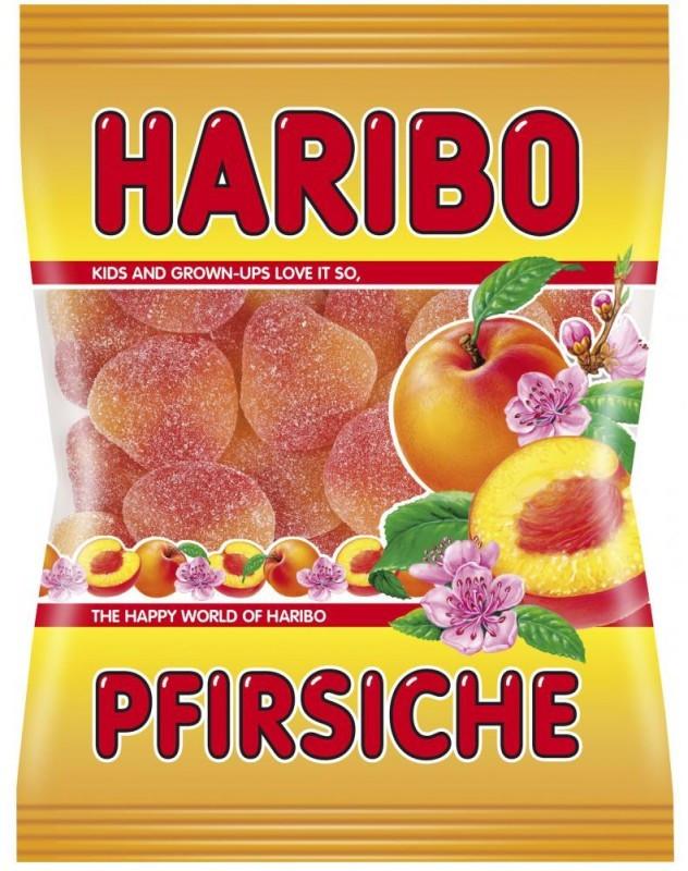 Жевательные конфеты Haribo Pfirsiche 200г
