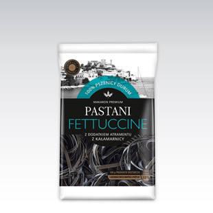 Макаронные изделия Pastani Fettuccine с чернилами 250 г, фото 2