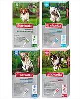 Капли Адвантикc для собак 25кг 4,0мл 1 пипетка Bayer