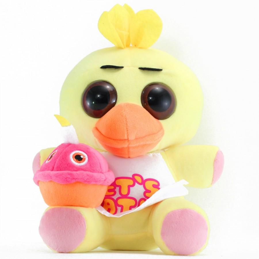 Мягкая игрушка  Пять ночей с Фредди Chica Чика 25 см FNAF48-2
