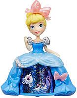Золушка в платье с волшебной юбкой, Маленькое королевство, Disney Princess Hasbro
