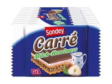 Вафли Sondey mleczno-orzechowy 10х25 г, фото 2