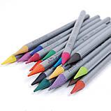 Художественные цветные бездревесные акварельные карандаши  KOH-I-NOOR Progresso 36цв., фото 2