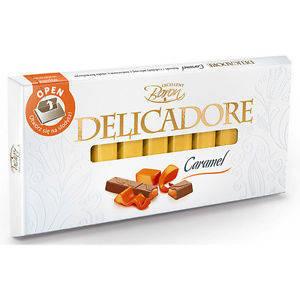 Шоколад Baron Excellent Delicadore Caramel молочный с карамелью 200 г, фото 2