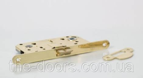 Замок врезной NS 410B-РВ / золото