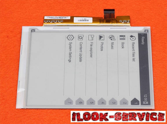 """Матриця Екран Дисплей E-ink 6"""" ED060SC4, фото 2"""