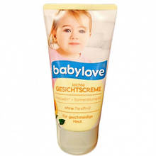 Крем для обличчя Babylove gesichtscreme 75ml