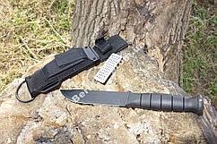 Практичный и современный тактический нож  Грифон ,толстый клинок ,ножны из кордуры