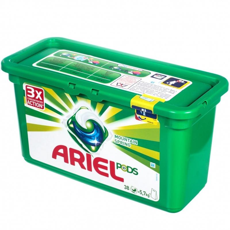 Капсулы Ariel  PODS 3в1  30 шт