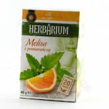 Чай Gwarancja Jakosci Herbarium Melisa z pomarancza 20 пакетов, фото 2