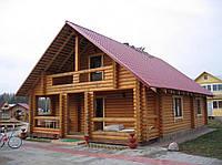 Деревянные дома из оцилиндрованного бревна. Украина, экспорт.