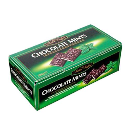 Шоколадные конфеты Maitre Truffout Chocolate Mints с мятой 200 г