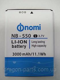 Аккумулятор Nomi i550 Space (АКБ, Батарея) NB-550 , оригинал