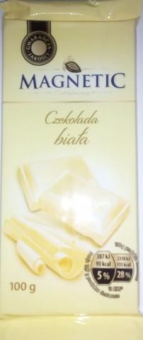 Шоколад Мagnetic белый 100 г