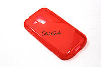 Чехол накладка для Samsung Galaxy S S7562 красный, фото 1