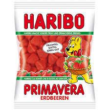 Жевательные конфеты Haribo Primavera Erdbeeren 200г