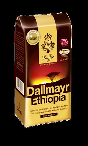 Кофе Dallmayr Ethiopia в зернах 100% arabica 500 г, фото 2
