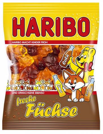 Жевательные конфеты Haribo Freche Fuchse 200г, фото 2