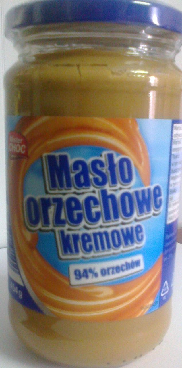Арахисовое масло Mister Choc кремовое 454г