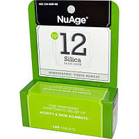 Hylands, NuAge, № 12 Silica (оксид кремния), 125 таблеток