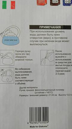 Чайник *Giakoma* 2.5л, фото 2