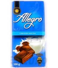 Шоколад Allegro молочный 100 г