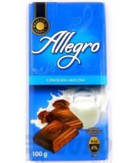 Шоколад Allegro молочный 100 г, фото 2