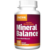 Jarrow Formulas, Минеральный баланс, 120 капсул