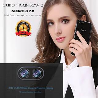 """Бюджетный супер смартфон """"Cubot Rainbow 2"""" под управлением Android 7.0"""