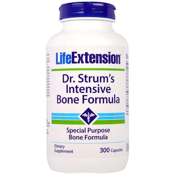 Life Extension, Dr. Strums Intensive Bone Formula, 300 Capsules