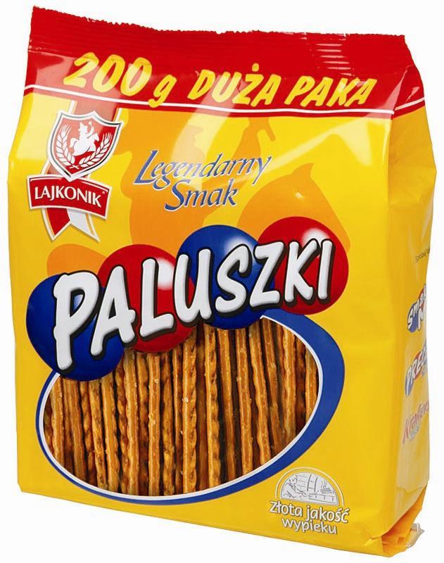 Соломка соленая Lajkonik Paluszki 200г
