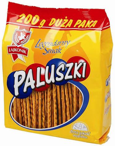 Соломка соленая Lajkonik Paluszki 200г, фото 2