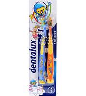 Зубная щетка Dentalux для детей от 3 лет 2шт