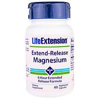 Life Extension, Длительное Выделение Магния, 30 Растительных капсул