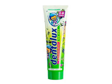 Зубная паста Dentalux для детей до 6 лет 100мл, фото 2