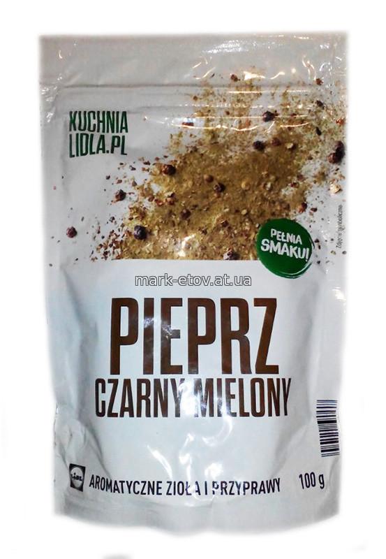 Приправа Kuchnia Lidl. Pl Pieprz Czarny mielony 100 г