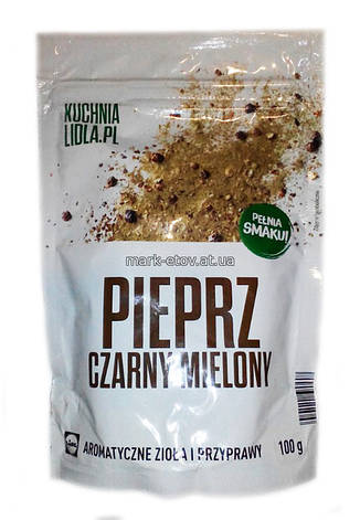 Приправа Kuchnia Lidl. Pl Pieprz Czarny mielony 100 г, фото 2